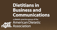 Dietitians in Business and Communications